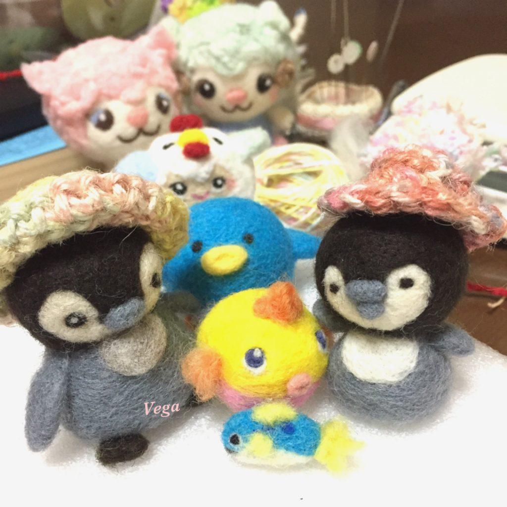 ペンギンなど大集合