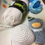 編みぐるみ、始めました。新しいことにチャレンジ♪