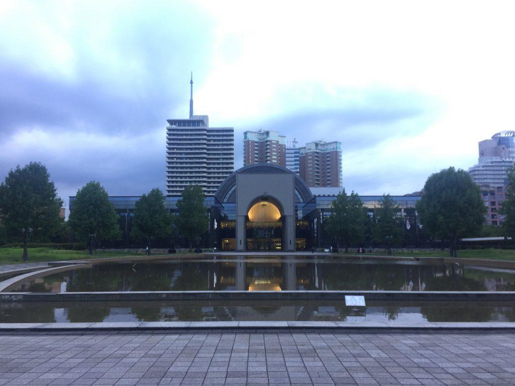 福岡市博物館人工の池