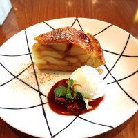ロイヤルガーデンカフェの、アップルパイ