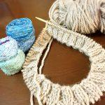 編み直しも楽しい、秋の日々。編むことは、私の歩みかも。