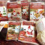 百均の羊毛フェルトクリスマスキットを、いっぱい買いました!