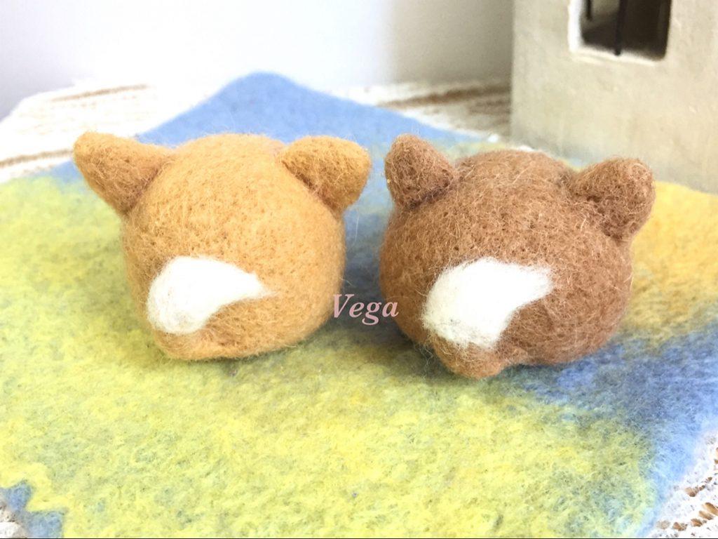 柴犬マスコットバックショット