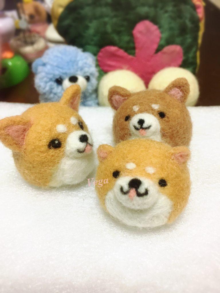 小さな柴犬ちゃん