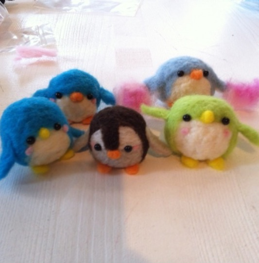 夏休みお子様向け、ペンギンマスコット