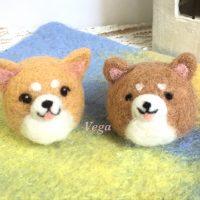 柴犬マスコットちゃん達