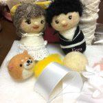 お人形さんのおめかし。マイケル・ジャクソンの、ダンスビートに乗せて?
