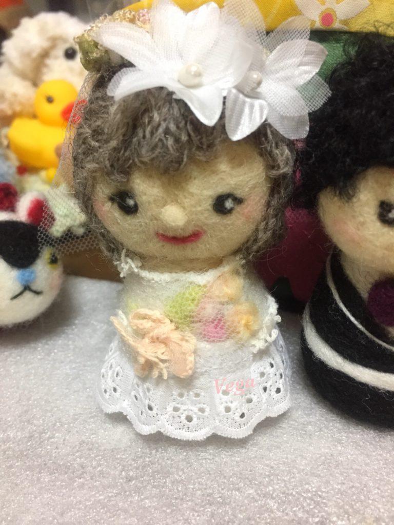 女の子のお人形さん