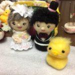 お人形さんに彩りを。アクレーヌの作品は、これからの課題に。