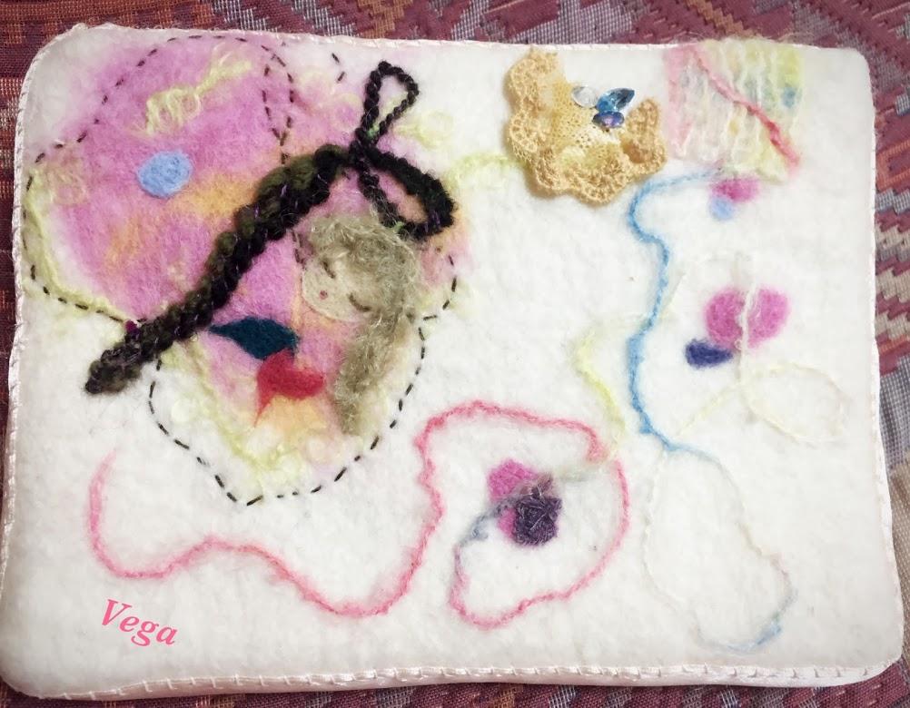 ミニアチュールゼロ展「生きゆく」羊毛刺繍