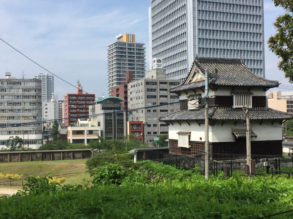福岡城の潮見櫓