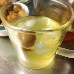 今年の梅の使い道は、梅シロップ。秋からの楽しみは、梅酒。