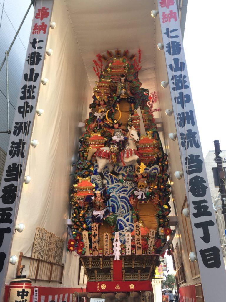 中洲流の飾り山