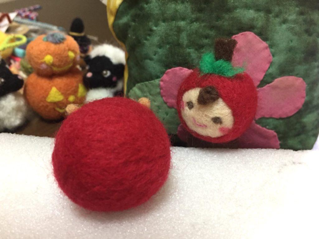 大きなりんご?