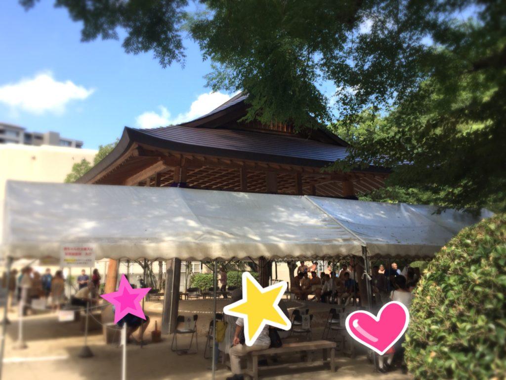 住吉神社相撲場