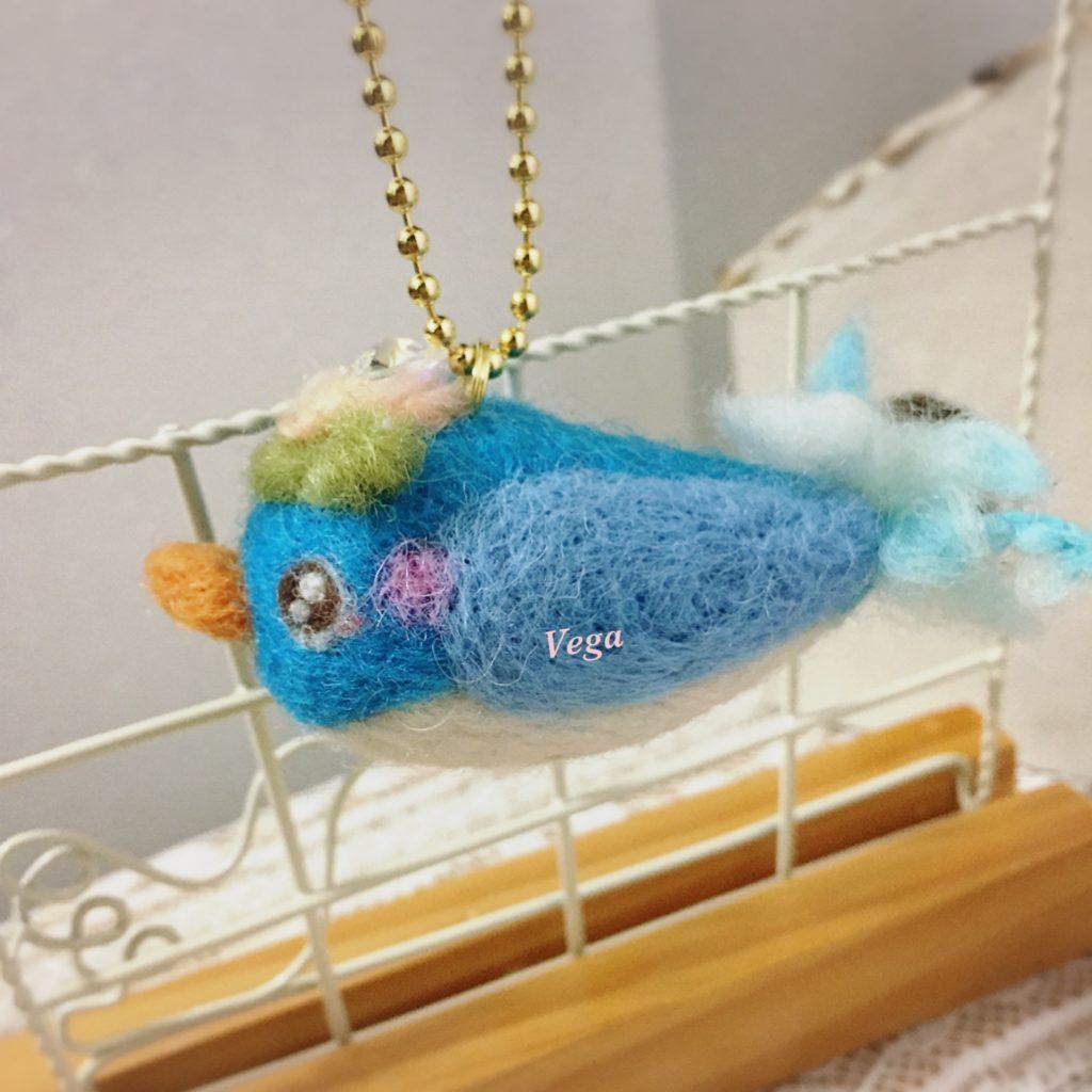 青い鳥チャーム-作品番号97