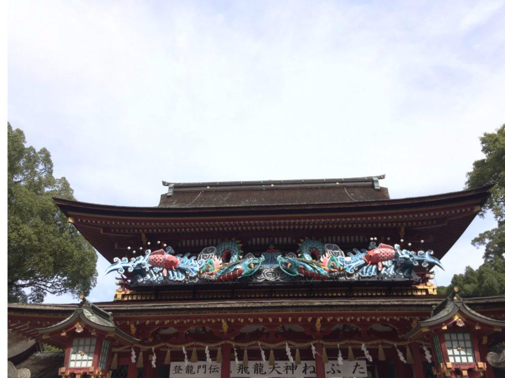 天満宮の楼門
