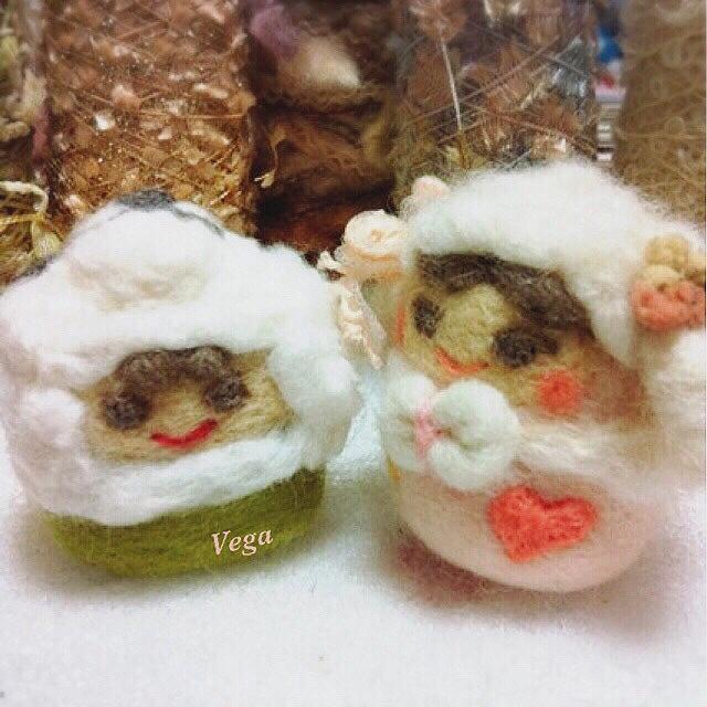 羊毛フェルトマスコット