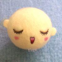 お人形さんの顔