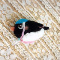 泳ぐペンギン-作品番号102