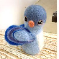 青い鳥マスコット-作品番号105