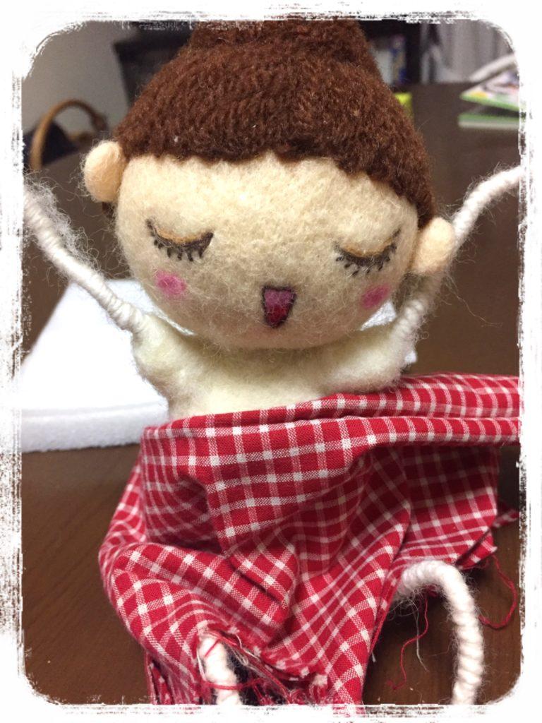オーダーのお人形さん