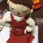 オーダー、お人形さんの洋服を仕上げました。