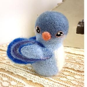 青い鳥マスコット