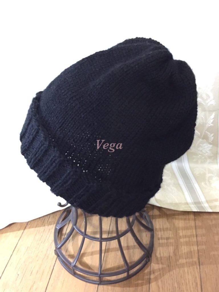 ウール100%のニット帽