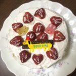 息子の17歳の誕生日は、ケーキ作り。いつものカレーライスも!(笑)