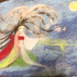 もうひとつのミニアチュールは、夜桜お七か、ギリシャ神話のメデューサか(笑)