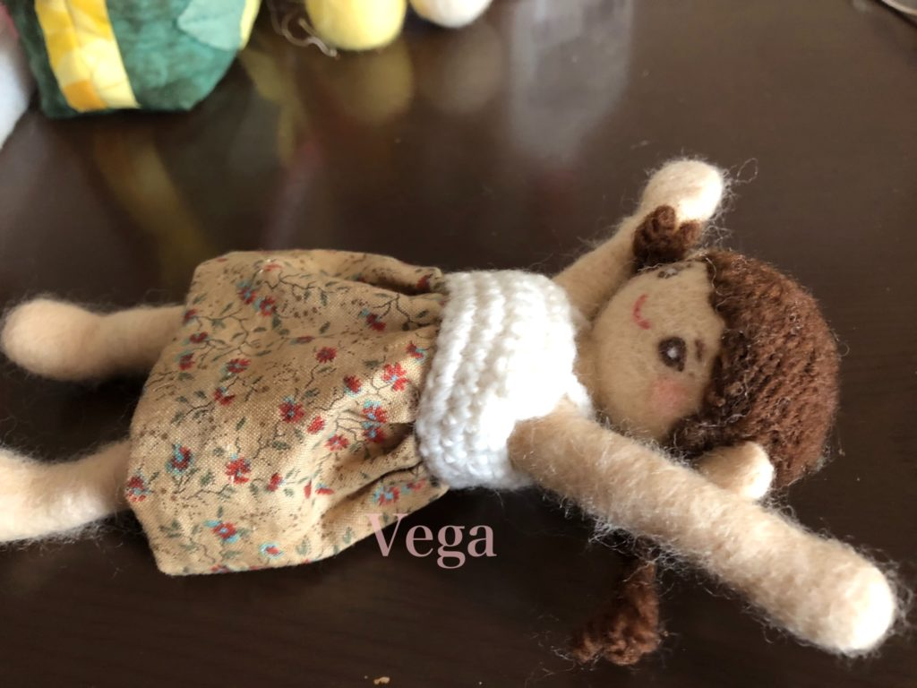 リラックス中の、お人形さん