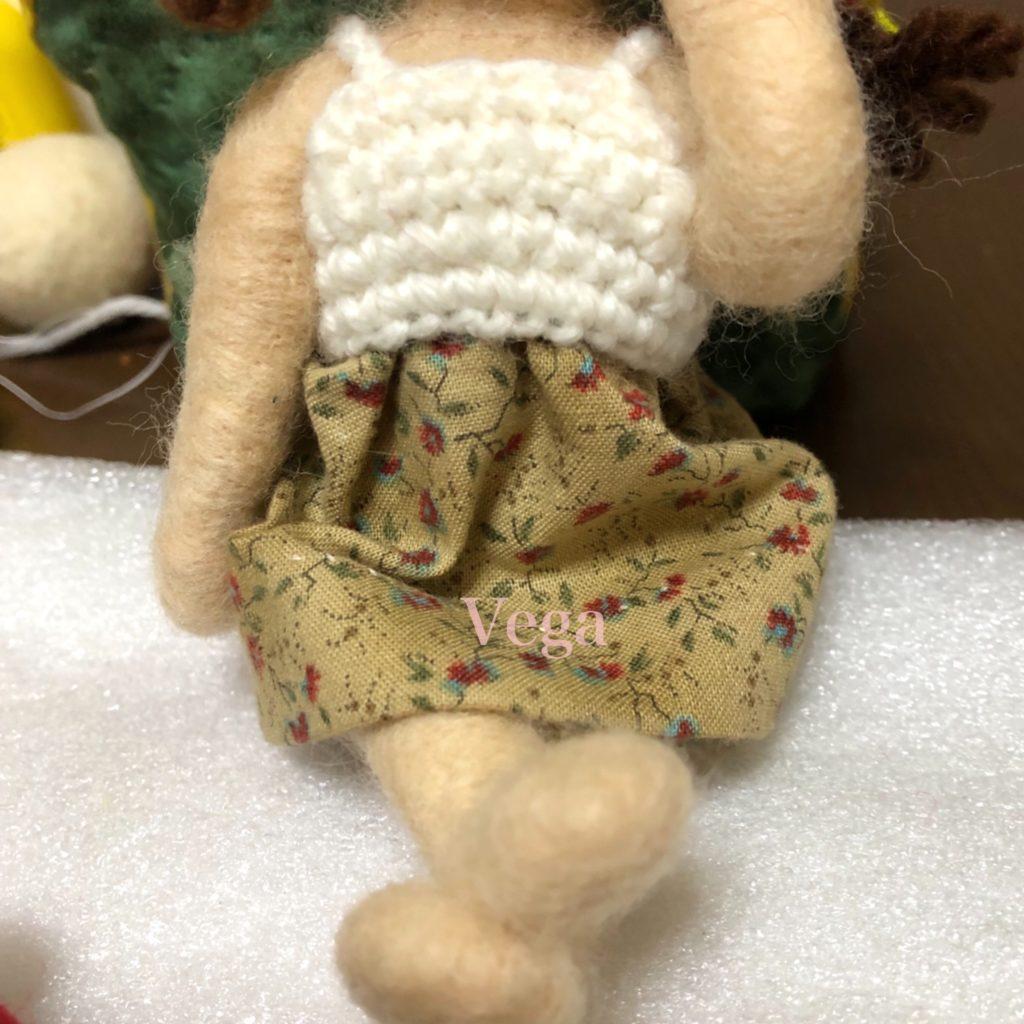 お人形さんの、サンドレス