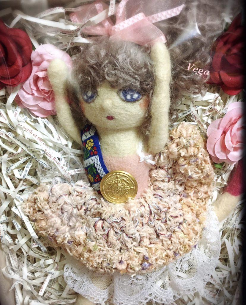 バレリーナの人形