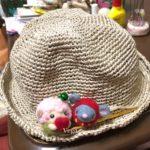 エコアンダリヤの夏帽子を、初めて編んでいます。笹和紙よりも軽く、お子さん向けに良さそう。