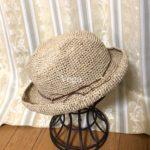 エコアンダリヤの夏帽子が、完成しました。軽くて負担も少ない、いい帽子だと思います。