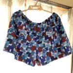 夏休みの手作業は、手縫いのステテコパンツ。素敵なチャレンジになりました。